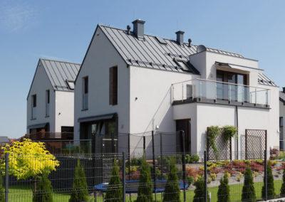 Budynki jednorodzinne w zabudowie bliźniaczej, Szymonowica